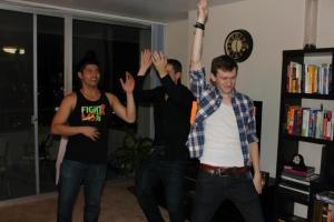 Bros Dancing