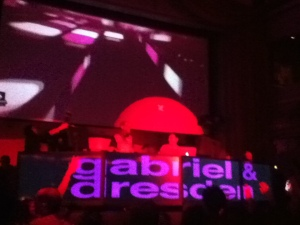 Gabriel and Dresden at TORQ ruby skye 2/22/2013