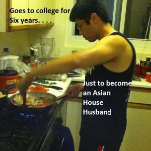 Asian house husband