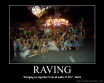 raving bring us together