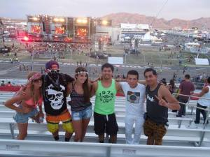 6 of 70, the first of us to enter in EDC 2013 Day 3